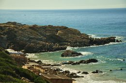 The coastline of Morocco is beautiful , kands - November 2012