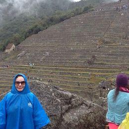 A chuva fina não atrapalhou. , Bernadete - September 2013