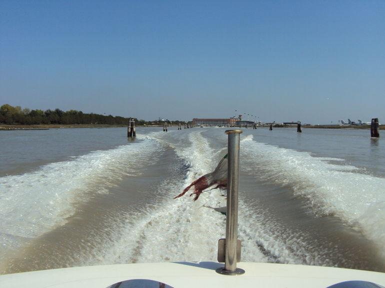 A Fast Getaway - Venice