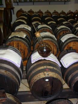 barrels of balsamic vinegar goodness , sven v - January 2015