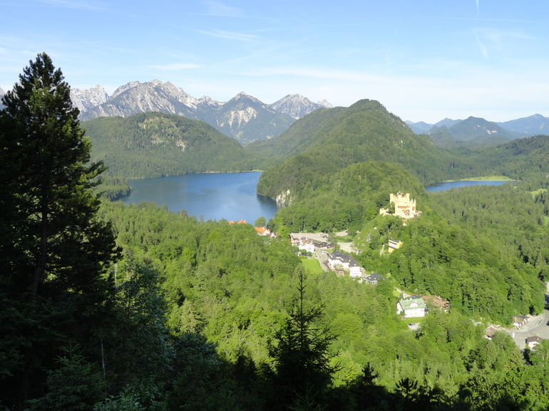 Bavarian Alps - Frankfurt