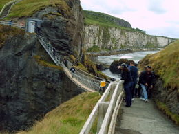 Carrick-a-Rede Rope Bridge , gerald d - June 2011