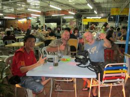 Food and drinks, what better way to spend a night in Kuala Lumpur - July 2012