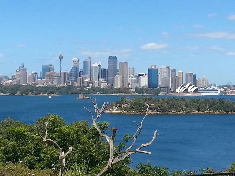 City view from Taronga Zoo - Sydney