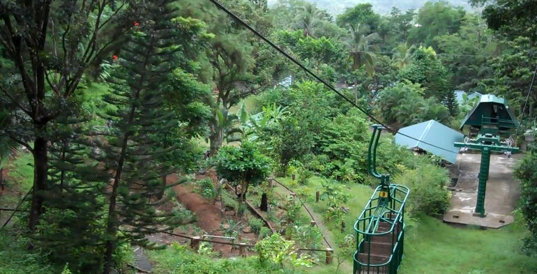 Coming down! - St Lucia