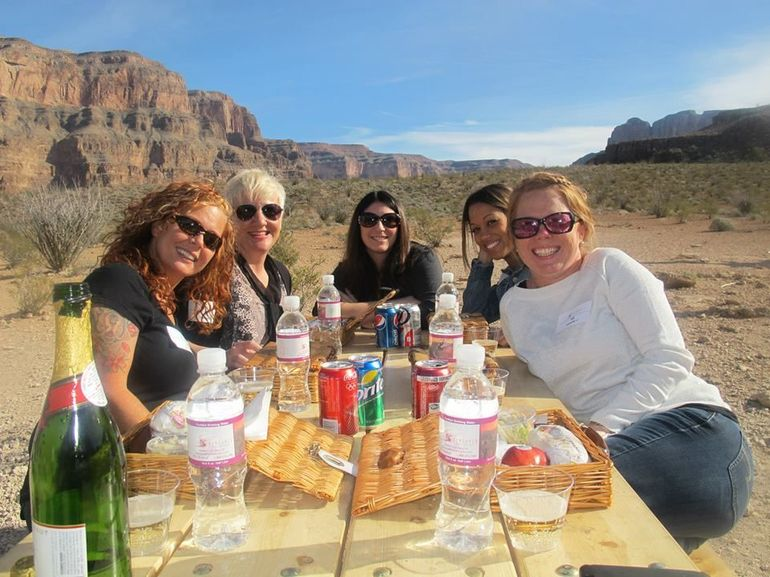 Grand Canyon picnic lunch - Las Vegas