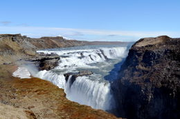 Gulfoss Waterfall in the Golden Circle , Maggie R - May 2016