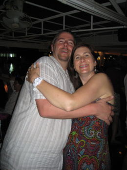 Andrew and Angela hit the dancefloor , Andrew P - April 2012