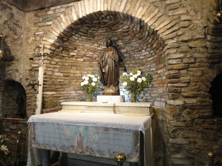House of Virgin Mary - Izmir