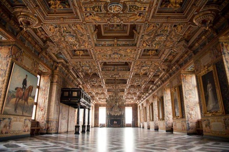 Inside of Frederiksborg Castle - Copenhagen