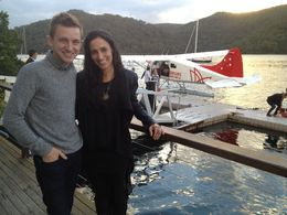 Lunch at Cottage Point Inn by Seaplane from Sydney, Asha & Brock - July 2013