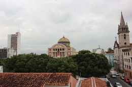 Picture of the Opera House taken from a hotel balcony., Bandit - May 2013