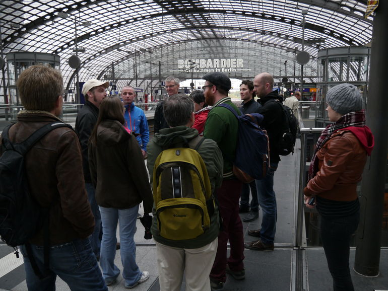 Our tour group - Berlin