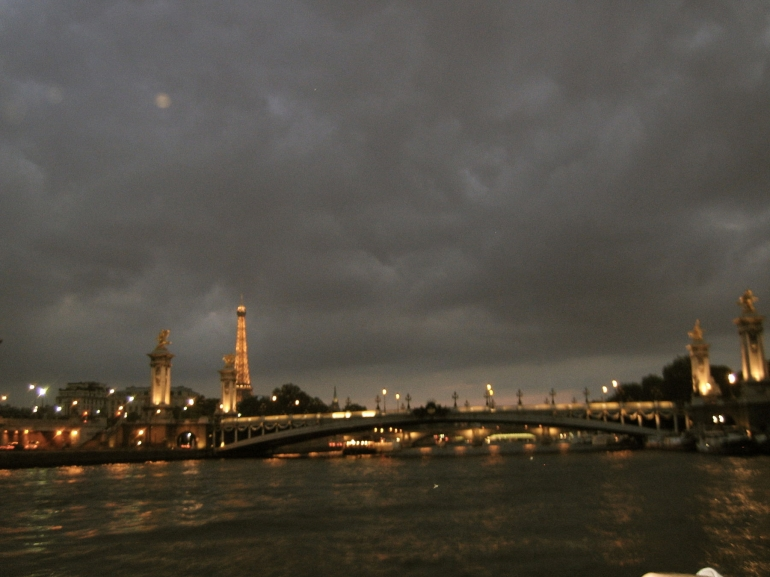 Panorama of the River Seine - Paris