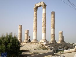 Ruins in Amman City at the Jordan Archaeological Museum., Cheryl W - May 2008