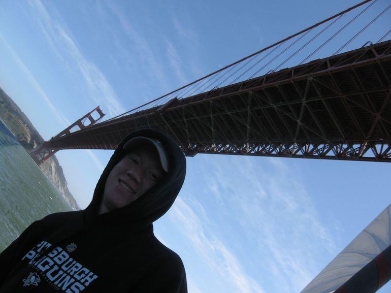 Sailing under the Golden Gate Bridge - San Francisco