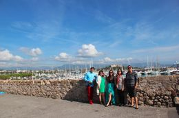 short visit Antibes town , Lena - August 2014