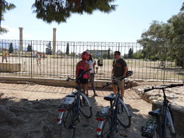 The tour ended near the Temple of Zeus before returning to the bike shop. , James M - September 2014