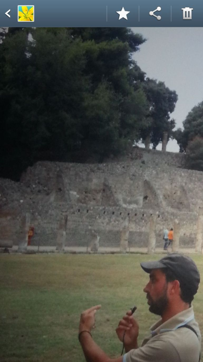 Tour guide Pompeii - Naples