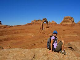 Walking in Arches National Park, World Traveler - December 2013
