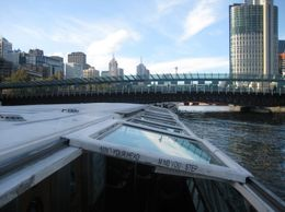Cruising the Yarra River on high tide. Tight fit under the bridges., Vanessa G - July 2008