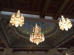 Sultan Qaboos Grand Mosque chandeliers , Elmarie - January 2018