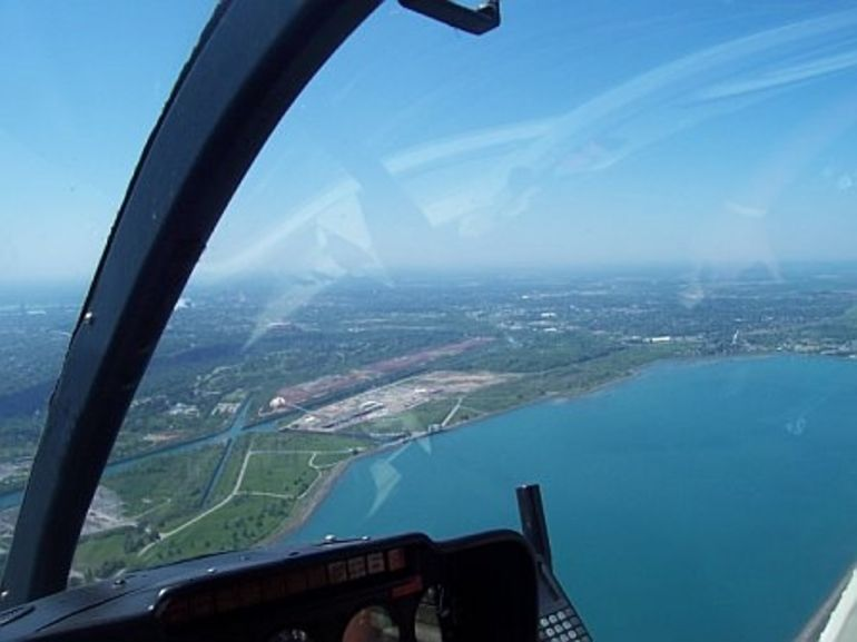 Another one from the chopper - Niagara Falls & Around
