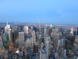 Another shot of Manhattan at dawn, Patricia P - July 2015