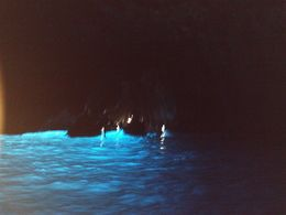 Inside the Blue Grotto. - August 2008