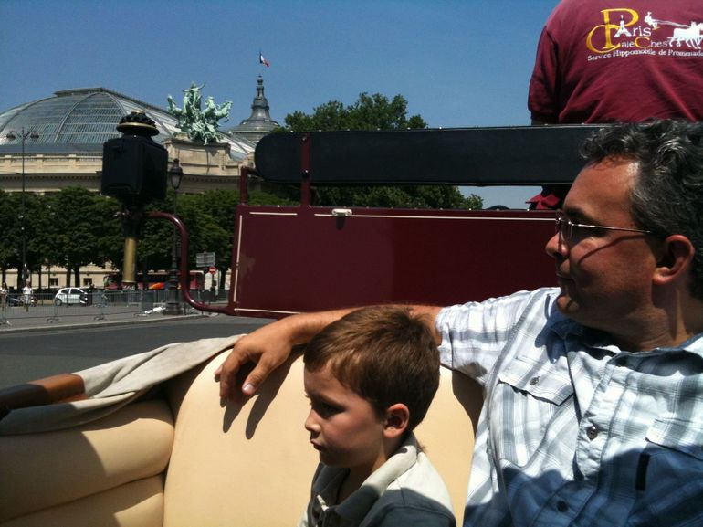Carriage Ride in Paris. - Paris