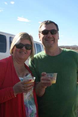 champagne to celebrate our 25th anniversary trip , lizyperry - October 2012