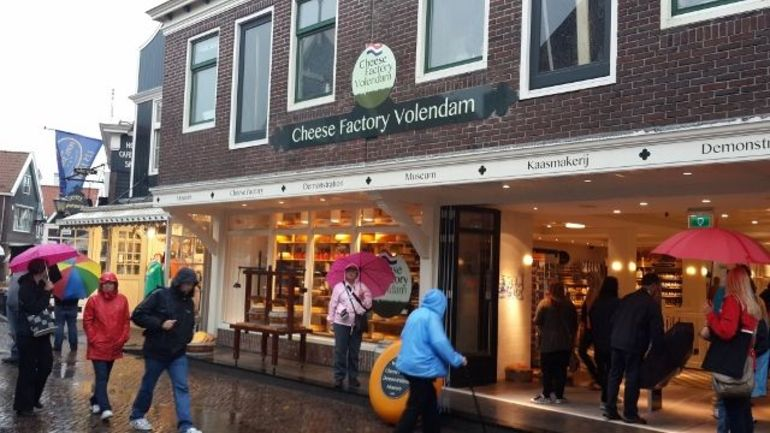 Cheese Factory in Volendam, Netherlands - Amsterdam