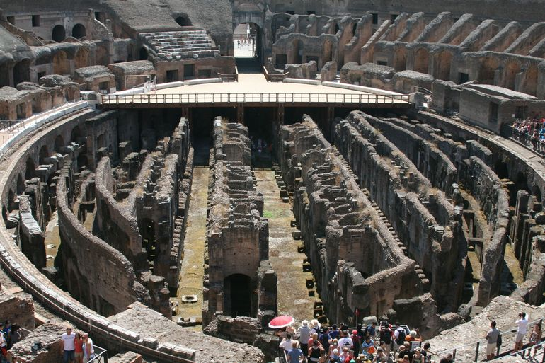 Collosseum basement - Rome