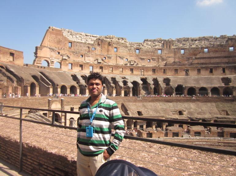 Colosseum inside - Rome