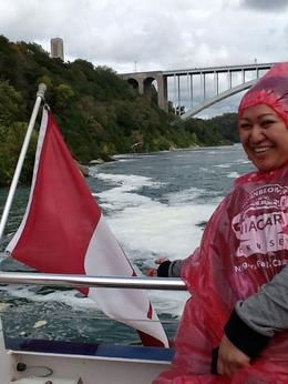 On the Hornblower tour! , Vicky - October 2014