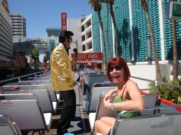 We had the whole top deck to ourselves, and two glorious hours of Elvis magic., Karen S - September 2010
