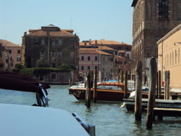 Entering Venice by a side canal. , Patricia M D - September 2011