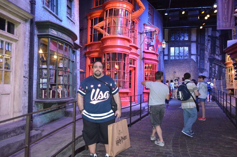 Estúdios da Warner Bros. - Harry Potter - Londres, julho 2013 - London