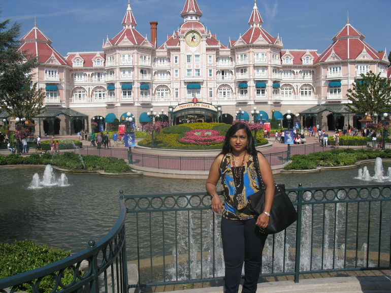 In Disneyland Paris - Paris