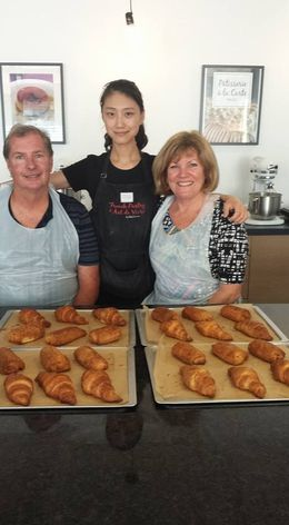 We took our folks to make croissants in Paris. It was a hit! , Matt L - August 2016