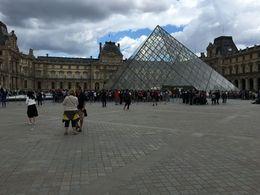 Entrance to the Louvre , Jeffery R - July 2016
