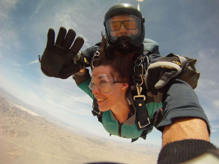 My First Skydive! - Las Vegas