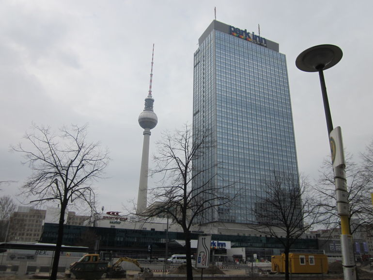 Near_TV_tower - Berlin