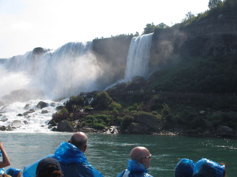 On the Maid of the Mist - Niagara Falls & Around