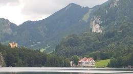Relative distance of two castles and the very small town you will overnight. Allow two hours and a good pair of shoes for the hike around the lake. , Mary A M - September 2016
