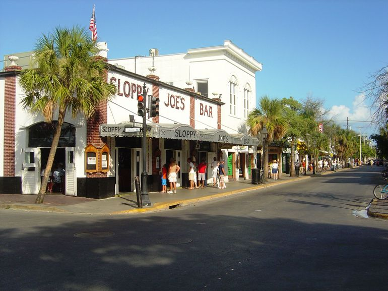 Sloppy Joe's on Duval Street - Key West