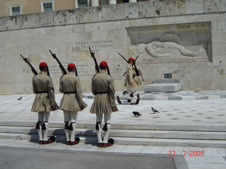 The Tomb of the Unknown Soldier, Athens - Athens