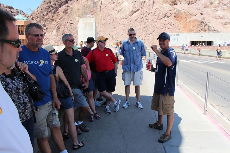 There is the best tour guide! Jason!! - Las Vegas