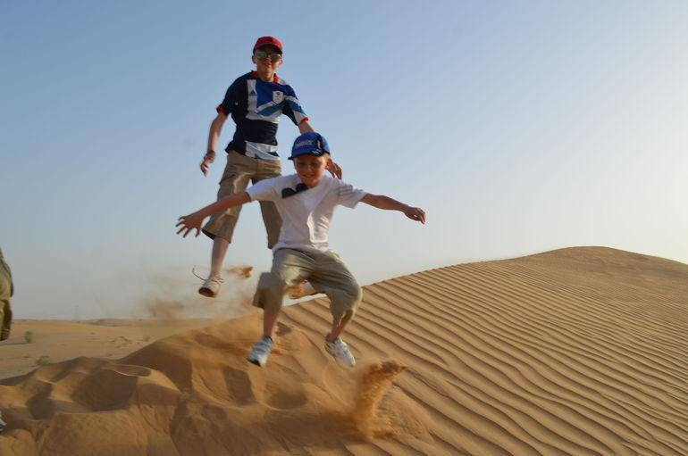Welcome to the desert - Dubai