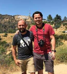 Very close to the Hollywood sign! , JONATHAN E - May 2017